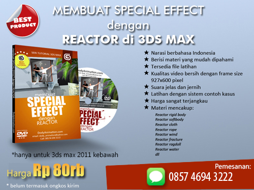 3ds max special effect reactor