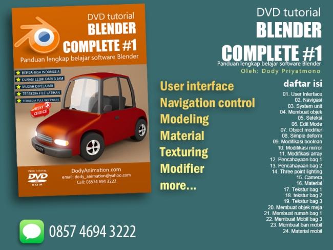Blender Complete #1 tanpa harga
